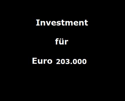 investment für 0203